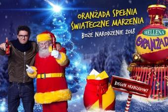 Oranżada Hellena zaprasza na Pierwszą Gwiazdkę – ruszyła świąteczna kampania reklamowa