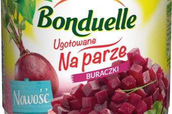 Tradycyjne warzywo w nowej odsłonie: marka Bonduelle wprowadza Buraczki Ugotowane na parze.