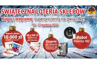 Loteria z prezentami na gwiazdkę w blisko 500 sklepach Chorten
