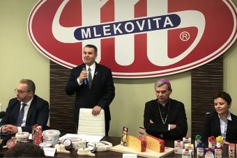 Nowe inwestycje, ważna umowa i list intencyjny na 90-lecie MLEKOVITY
