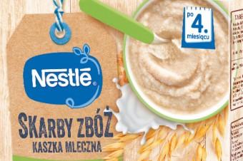 """Linia kaszek dla niemowląt Nestlé """"Skarby Zbóż"""""""