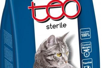 TEO® STERILE dla dorosłych kotów po zabiegu sterylizacij/kastracji