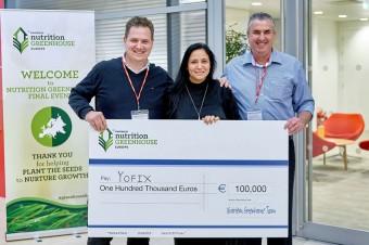 100 000 euro dla Yofix w europejskiej edycji programu nutrition greenhouse firmy PepsiCo