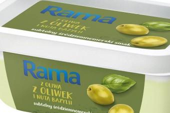 Rama z oliwą z oliwek i nutą bazylii