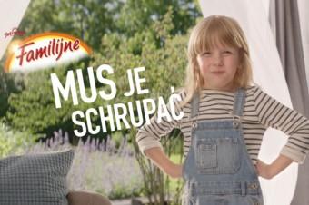 """Wafle Familijne Gofrowe w kampanii """"Mus je schrupać""""!"""