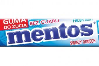 Kampania reklamowa gum do żucia Mentos Pure Fresh