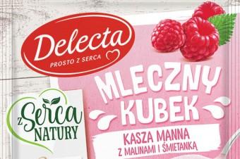 Marka Delecta poszerza ofertę produktów do pieczenia oraz przekąsek instant