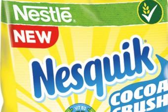 Płatki z nadzieniem od Nestlé
