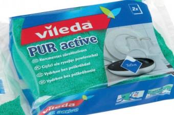 Czystość bez zarysowań – nowoczesny zmywak Pur Active marki Vileda