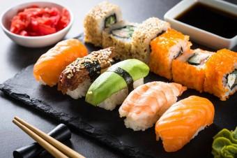 W Dzień Kobiet sushi zamiast goździka