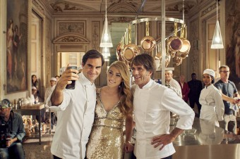 FEDERER I OLDANI zaskakują gości, przygotowując wyjątkowe spaghetti w nowej kampanii reklamowej marki BARILLA