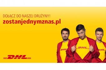 Robert Lewandowski i piłkarze Bayern München w kampanii rekrutacyjnej DHL Supply Chain