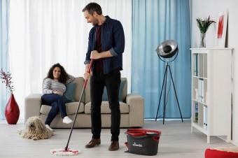 Vileda prowadzi kampanię reklamową mopa obrotowego TURBO