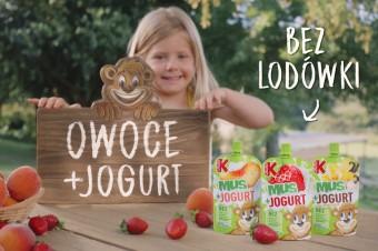 Mus+Jogurt = smakowite połącznie Kubusia