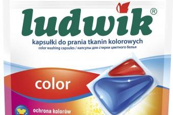 LUDWIK przedstawia nowy sposób na doskonale czyste pranie - kapsułki do prania 2 in 1 caps!
