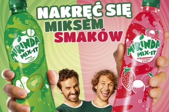 Nowy owocowy mix smaków od Mirindy – MIX-IT!