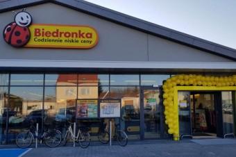 Odnowiony, nowoczesny i kuszący cenami: rusza sklep Biedronka w Brześciu Kujawskim