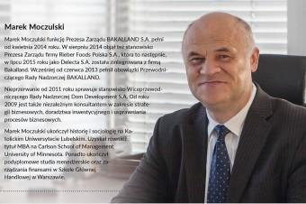 Bieszczady to mój azyl - rozmowa z Markiem Moczulskim, Prezesem Zarządu Bakallad