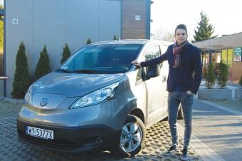 "Autotest ""pod napięciem"" - Nissan e-NV200 Furgon Tekna"