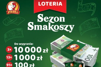"""Sezon Smakoszy"" - loteria konsumencka firmy Profi"