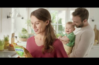To, co dobre dla maluszka: kaszki BoboVita PORCJA ZBÓŻ w nowej kampanii marki