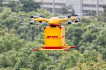 DHL Express z dostawą za pomocą dronów miejskich