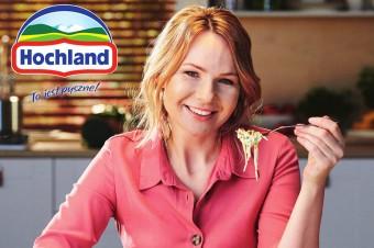 Smak i jakość serów kremowych Hochland sprawdzają się zawsze! Nowa kampania Hochland z udziałem Anny Guzik.