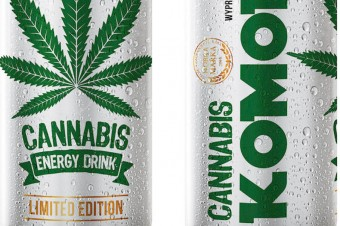 Komodo Energy Drink Cannabis 0,25 l