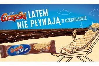 """""""Grześki latem nie pływają w czekoladzie!"""" – wakacyjna kampania marki Grześki"""