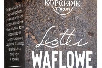 Listki Waflowe od Fabryki Cukierniczej Kopernik