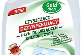 Gold Drop – czyszcząco- dezynfekujący płyn do urządzeń chłodniczych