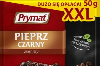 Pieprz czarny ziarnisty 50 g XXL –w ofercie marki Prymat