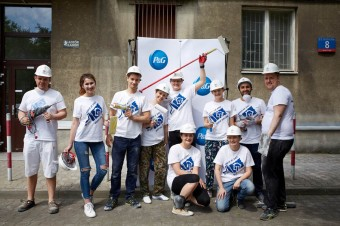 Wolontariusze P&G oraz Habitat for Humanity ponownie razem na rzecz potrzebujących