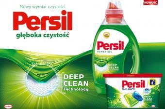 Gdy plamy wnikają naprawdę głęboko w tkaniny, Persil wnika i czyści głębiej