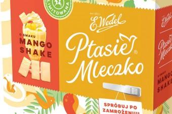 Mango Shake i Caffe Frappe – Ptasie Mleczko® w nowych smakach na lato