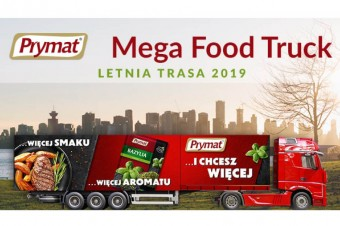 Prymat Mega Food Truck i letnia trasa 2019!