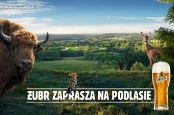 """""""Żubr zaprasza na Podlasie"""" – trwa nowa, wyjątkowa kampania marki"""