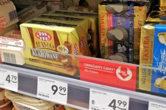 Eksperci: Niewielki wzrost cen masła w ciągu roku może zwiastować większe obniżki
