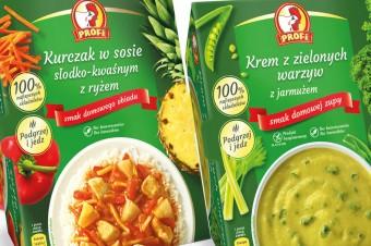 Jak z domowej kuchni – nowa odsłona gotowych zup i dań chłodzonych Profi