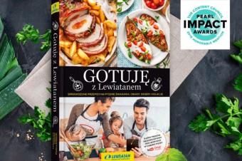 """Książka """"Gotuję z Lewiatanem"""" wyróżniona w międzynarodowym konkursie Pearl Impact Awards 2019"""