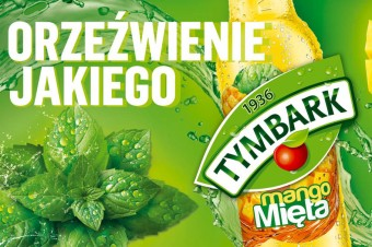 Tymbark mango-mięta - orzeźwienie, jakiego jeszcze nie było!