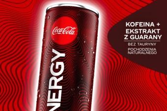 Napój energetyzujący – Coca-Cola Energy