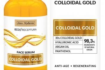 Luksus dla pięknej skóry – nowa seria pielęgnująca Colloidal Gold od Starej Mydlarni
