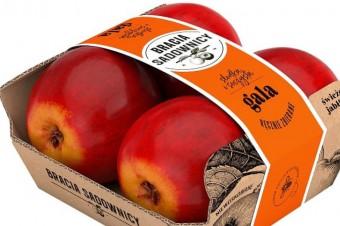 Jabłka Braci Sadowników w opakowaniu bez folii