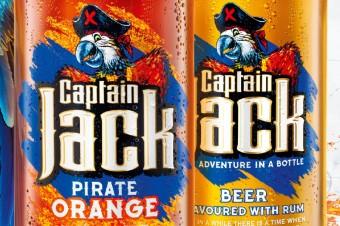 Chwyć nowy smak pirackiej przygody z Captain Jack Pirate Orange