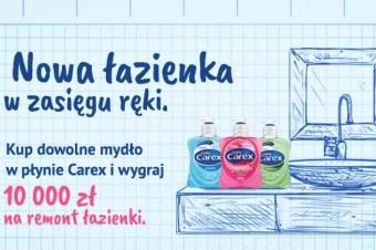 Wygraj łazienkę swoich marzeń razem z marką Carex!