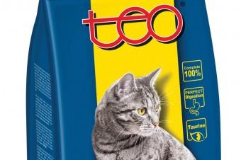 TEO® Pełnoporcjowa karma sucha dla dorosłych kotów