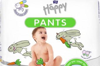 Beztroska zabawa z Bella Baby Happy Pants!
