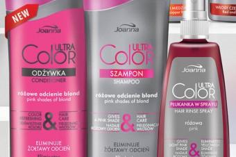 Kolor włosów zawsze taki, jaki chcesz zproduktami Joanna Ultra Color