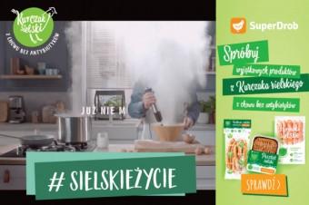 Humor i luz w jesiennej kampanii Kurczaka Sielskiego od SuperDrob